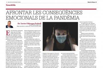 ¿Cómo afrontar las consecuencias emocionales de la pandemia?